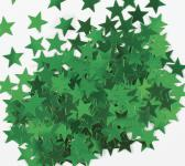 Sterne Konfetti Grün