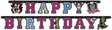 Monster High Geburtstags Girlande