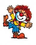 Mini Tattoo Zirkus Clown