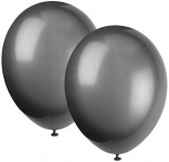 10 Luftballons Schwarz
