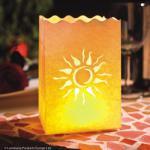 4 Lichttüten Sonne
