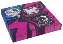 20 Servietten Monster High 2