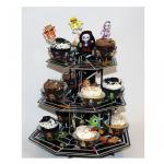 Muffin Etagere Halloween Monster