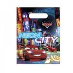 6 Cars Neon Party Tütchen