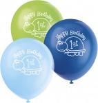 8 Erster Geburtstag Schildkröte Luftballons