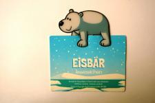 Eisbär Lesezeichen