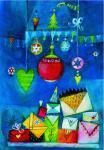 Weihnachtspostkarte Weihnachtsgeschenke
