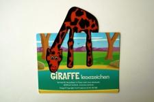 Giraffe Lesezeichen