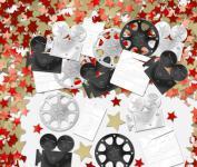 Hollywood Film Konfetti