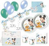 79 Teile Disney Baby Micky and Friends Party Deko Set 16 Personen