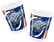 10 Cars Spies Party Becher