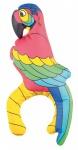 aufblasbarer Papagei für die Schulter