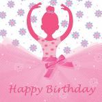 16 Prima Ballerina Geburtstags Servietten