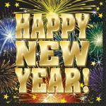 16 Servietten Happy New Year