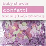 Baby Shower Konfetti Rosa
