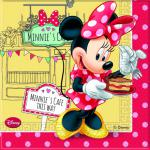 20 Servietten Minnie Café