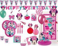 Disney Minnie Maus Pink Dots Party Deko Set