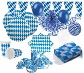 XXL 71 Teile Bavaria Party Deko Set Oktoberfest für 10 Personen