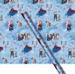 Frozen die Eiskönigin Geschenkpapier Blau