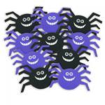 10 Pappschilder Spinnen