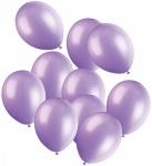 50 Luftballons Lavendel