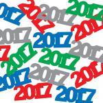 Konfetti 2017 bunt