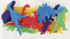 12 kleine Neon Dinosaurier