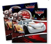 20 Cars Silver Edition Servietten