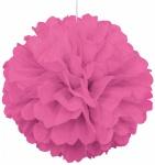 1 großer Papier Dekoball helles Pink