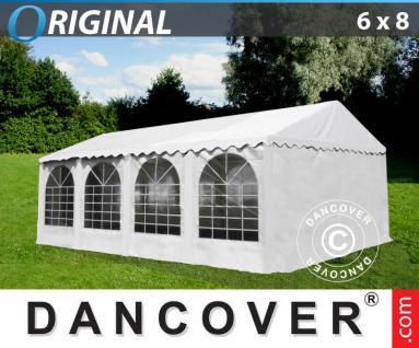 Partyzelt Festzelt 6x8m PVC Pavillon Gartenzelt