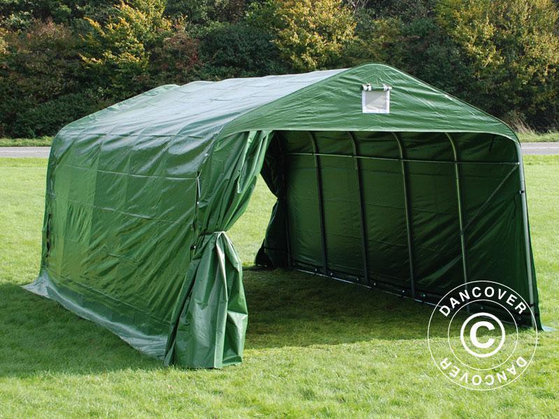 lagerzelt zelt garagen 3 6x6x2 68m m pvc carport schutz. Black Bedroom Furniture Sets. Home Design Ideas