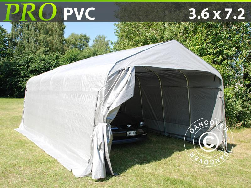 lagerzelt zelt garagen 3 6x7 2x2 68 m pvc carport schutz zeltgarage kaufen bei dancover a s. Black Bedroom Furniture Sets. Home Design Ideas