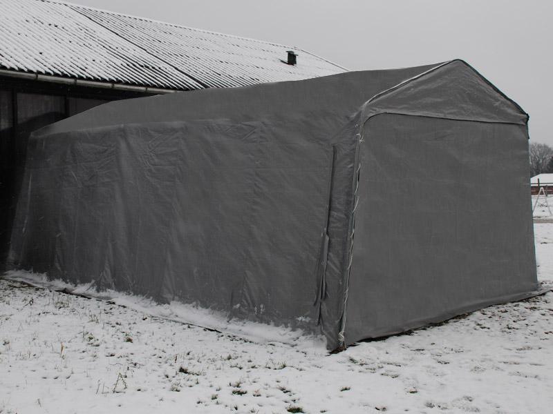 Zelt 3 4 M : Lagerzelt zelt garagen x m pvc carport schutz