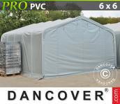 Lagerzelt Garagen PRO 6, 0x6, 0x3, 7 PVC Zelthallen