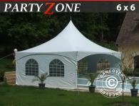 Pagodenzelt 6x6 m Partyzelt Festzelt Pavillon PVC