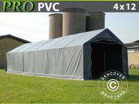 Lagerzelt Garagen PRO 4x12x2x3, 1 m, PVC Lagerhallen Zeltgarage