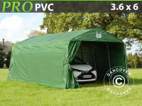 Lagerzelt Zelt Garagen 3, 6x6x2, 68M m PVC Carport Schutz Zeltgarage