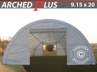 Rundbogen Lagerzelt 9, 15x20x4, 5 m 600 g/m² Dancover Zelthallen