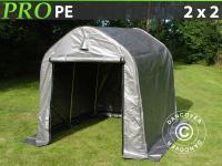 Lagerzelt Zelt Garagen 2x2x2m Schutz Zeltgarage