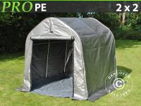 Lagerzelt Zelt Garagen 2x2x2m Schutz Zeltgarage Mit Bodenplane