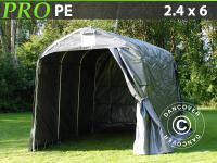 Lagerzelt Zelt Garagen 2, 4x3, 6x2, 34m Schutz Zeltgarage