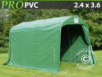 Lagerzelt Zelt Garagen 2, 4x3, 6x2, 34m PVC Grün Schutz Zeltgarage