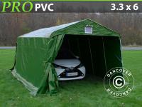 Lagerzelt Zelt Garagen 3, 3x6x2, 4m PVC Carport Schutz Zeltgarage