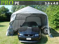 Lagerzelt Zelt Garagen 3, 6x4, 8x2, 7 m PVC Carport Schutz Zeltgarage