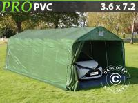 Lagerzelt Zelt Garagen 3, 6x7, 2x2, 68 m PVC Carport Schutz Zeltgarage Mit Bodenplane