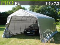 Lagerzelt Zelt Garagen 3, 6x7, 2x2, 68 m PE Carport Schutz Zeltgarage