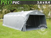 Lagerzelt Zelt Garagen 3, 6x8, 4x2, 68 m PVC Carport Schutz Zeltgarage Mit Bodenplane