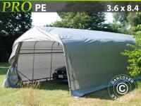 Lagerzelt Zelt Garagen 3, 6x8, 4x2, 7 m PE Carport Schutz Zeltgarage