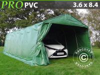 Lagerzelt Zelt Garagen 3, 6x8, 4x2, 7 m PVC Carport Schutz Zeltgarage