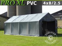 Lagerzelt 4x8x2x3, 1 PVC Garagen Zeltgarage Lagerhallen Garagenzelt Schutz Lager